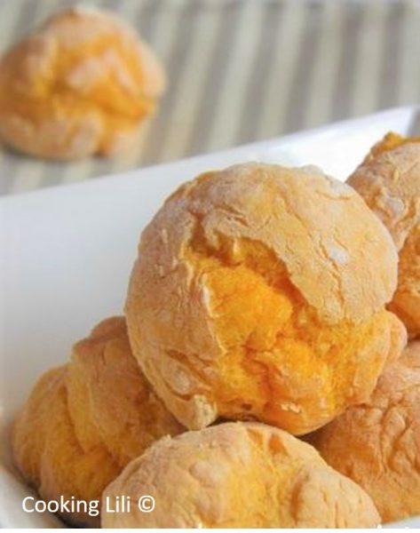 Beignets de potimarron sans friture pour b b cubes petits pois - Enlever odeur de friture ...