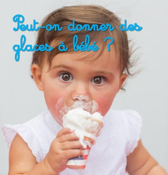 Glaces et sorbets pour bébé
