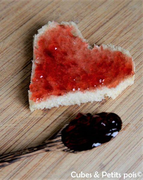 5 idées de recettes pour bébé en forme de coeur pour la Saint Valentin