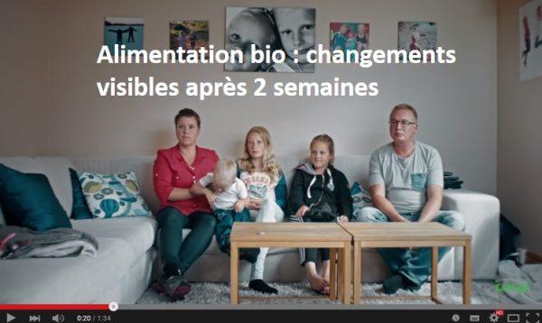 Etude alimentation bio moins de pesticides urinaires