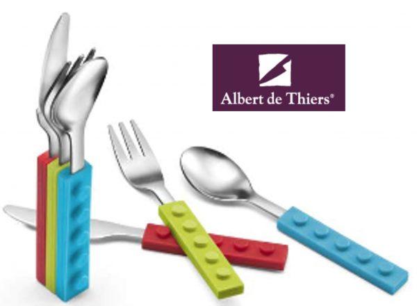 Couverts pour enfants Ludo de Albert de Thiers