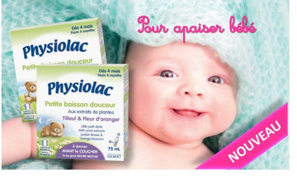 Physiolac Petite boisson aux plantes pour bébé