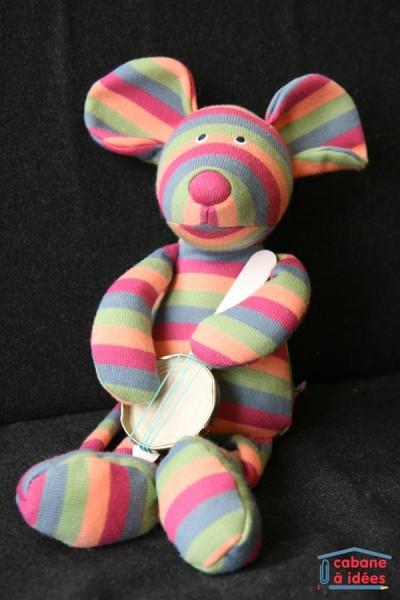 DIY banjo récupération pour poupées ou doudou