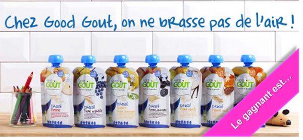 Brassés Good Goût bio laitage bébé