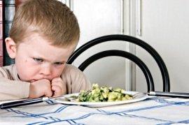 Enfants difficiles sur la nourriture et troubles émotionnels