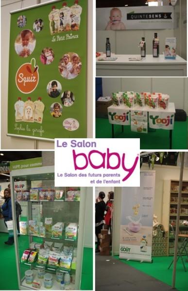 Alimentation bio pour b b au salon baby paris 2015 for Salon bio paris