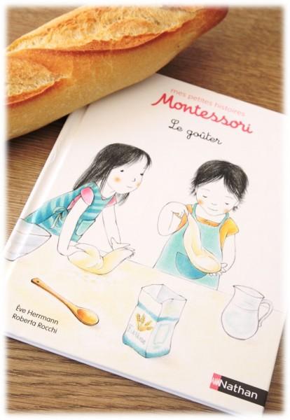 mes petites histoires Montessori Le goûter éditions Nathan