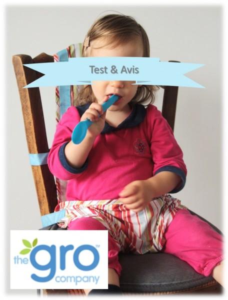 Harnais de chaise pour bébé nomade the gro company