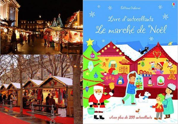 Le marché de Noël aux éditions Usborne
