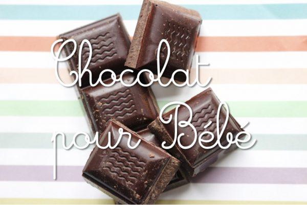 Chocolat pour bébé
