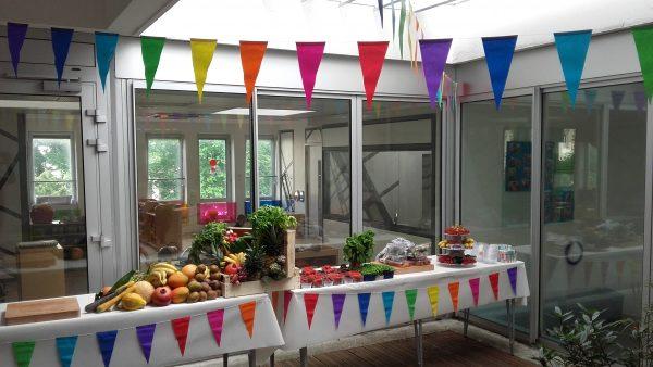 Eveil aux fruits et légumes dans les crèches