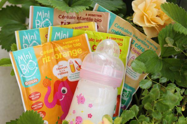 Mini Bio par Nat'Ali des céréales infantiles nomades