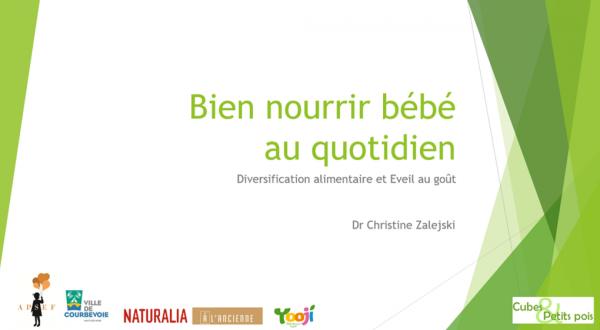 Bien nourrir bébé au quotidien : Diversification et éveil au goût