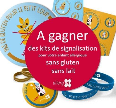 Kits pour bébés allergiques avec AllergN