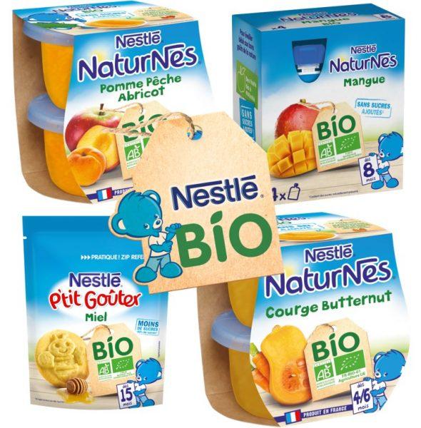 Petit pot bio Nestlé bébé