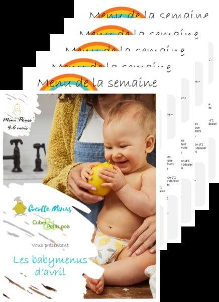 Menus pour bébé Programme Cocotte Minus